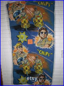 1970's C.H.I.P.S Sleeping bag