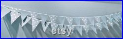9'9 L X 8'W WATERPROOF Vintage Camper Trailer Awning, 2-two 10'L Strings Bunting Banner Flags, and Tote Bag