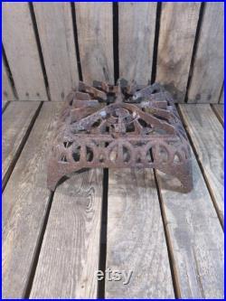 Antique Rusty Single Burner