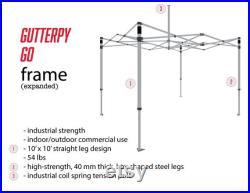 BUNDLE 3 Tent Top Steel Hex Frame Pair of Half Walls