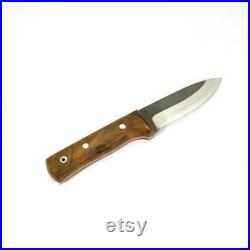 Bhosyn Camping Knife Custom Handmade Stainless Steel Hiking Forest Hunting Fishing Survival Tool Couteau de Camping