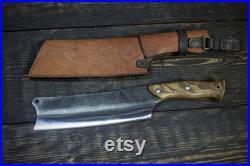 Big Bushcraft Hatchet-Knife 2, Machete, Hatchet, Knife, Big Knife, Butcher