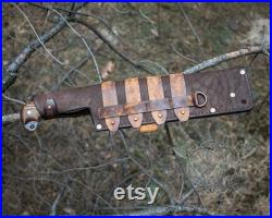 Big Bushcraft knife 1, Machete, Hatchet, Knife, Big Knife