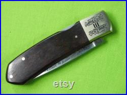 Browning Citori Japan Limited Grade III Commemorative Folding Pocket Knife Gift for Him Gift for collector Camping