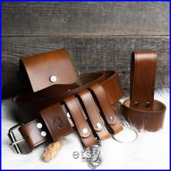 Buschraft Belt Set for Beginners with Free Personalization