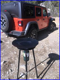 Camp Stove and 16 in Skottle Combo- by CampOverland