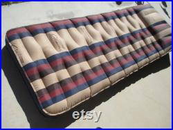 Coleman Inflatable Air Mattress Vintage Striped Single Bed Camping