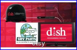 Dish Network Satellite TV Antenna Playmaker-Portable Antenna Bundle with Wally