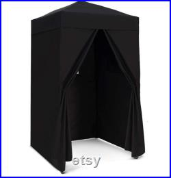 EAGLE PEAK Flex Ultra Compact 4 x4 Pop-up Changing Room Canopy, Portable Privacy Cabana for Pool, Fashion Photoshoots, or Camping