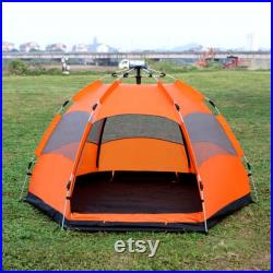 Family Size 5-8 Person 3 Season Waterproof Double Layer Camping Tents