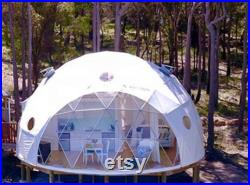 Geodesic Glamping Luxury Dome 5M (16.3ft)