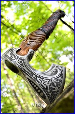 Handmade Viking axe ,Hatchet, Viking Hatchet, Bearded axe ,Battle axe Hand Forge axe, Best man Gift Birthday gift, Personalized Gift For Him