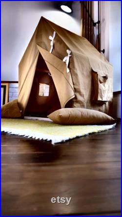 Hunting nomad tent small cottage, Playschool house portable canopy playhouse for toddlers