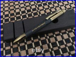 Lionsteel Nyala Bronze Shine Titanium and Carbon Fiber EDC Pen