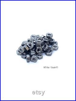 Made To Order M3 Titanium Nut Grade 4 Titanium 100x Nuts
