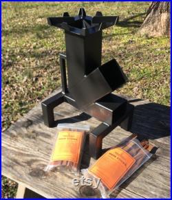 Minuteman K Rocket Stove