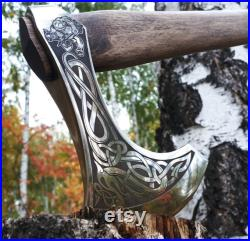 New lightweight Viking battle Axe j354 is a wonderful Gift for a collection A gift for fans of role-playing games Historical Reproductions