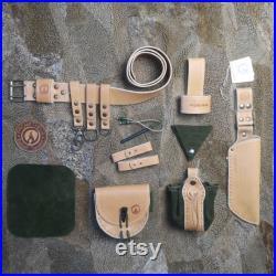 PROMETHEUS Bushcraft Essential Belt Kit