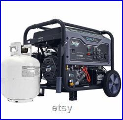 Pulsar 10000 Watt Portable Dual Fuel Propane Gas Generator Electric Start G10KBN