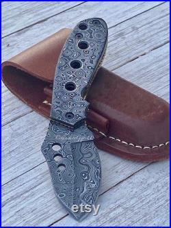 SHARK- Handmade Full Damascus Steel Folding Knife Outdoor Tool Camping Knife Groomsmen knife best knives father Day gift best liner lock