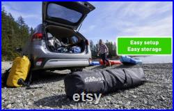 SUV Instant Popup Camping Tent 9' x 9' Sleeps Up to 7 for SUV Crossover Minivan
