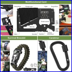 Survival Gear Tactical Tool Military Emergency Kit