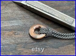 TOPO Zirconium Ti Prybar Pocket Clip Haptic slider Custom Titanium EDC Tool Crowbar Outdoor Every Day Carry EDC gear 50th birthday gift Cnc