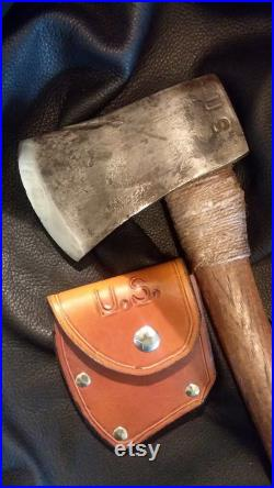 This Bronze Star and WWII Platoon Hatchet are Collectible, Camp Site Ready, or an Unexpected Anniversary Gift.