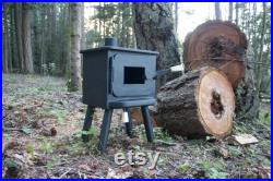 Tiny wood stove 2
