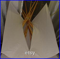 Tipi, Teepee, full size 3 m diameter Native American Tent, for Outdoor Glamping Camping