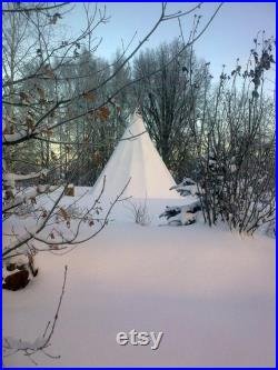 Tipi, Teepee, full size 4m diameter Native American Tent, for Outdoor Glamping Camping