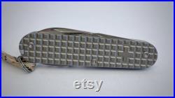 Victorinox Spartan with Titanium scales, SAK, pocketknife, edc, edctool