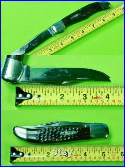 Vintage 1965-69 US CASE XX Red Bone Hunter 2 Blade Folding Pocket Knife Gift for Him Gift for collector