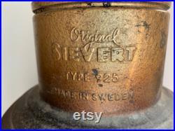 Vintage Sievert Type 925 Camp Cooking Stove
