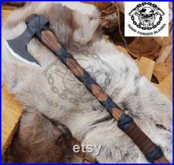 custom Hand Forged Bear paw axe Personalized Gift odin Axes Viking axe tomahawk axe Battle Axes.